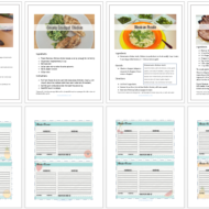 Frugal Family Meal Plan One – Free Printable