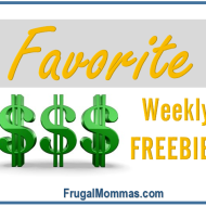 Favorite Weekly Freebies