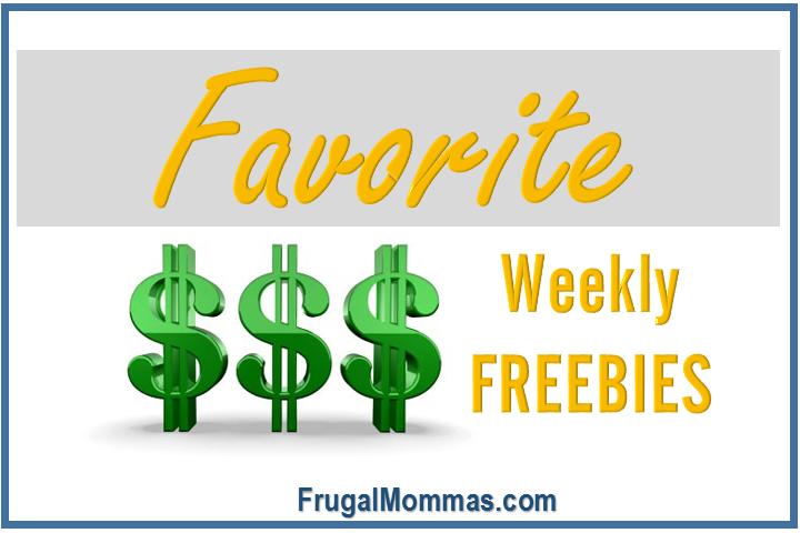 favorite weekly freebies