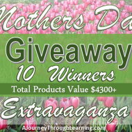 Mothers Day Giveaway Extravaganza- 10 Winners