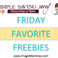 Friday Favorite Freebies