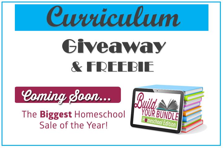 Curriculum Giveaway & FREEBIE