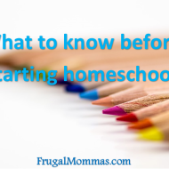 What to Know Before starting Homeschool