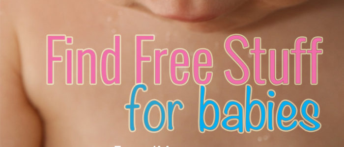 how to find free baby products