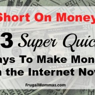 Work From Home And Make Money Now