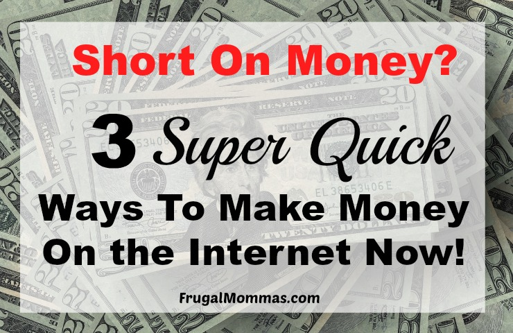 to make fast cash are easy methods that you can use to put some money