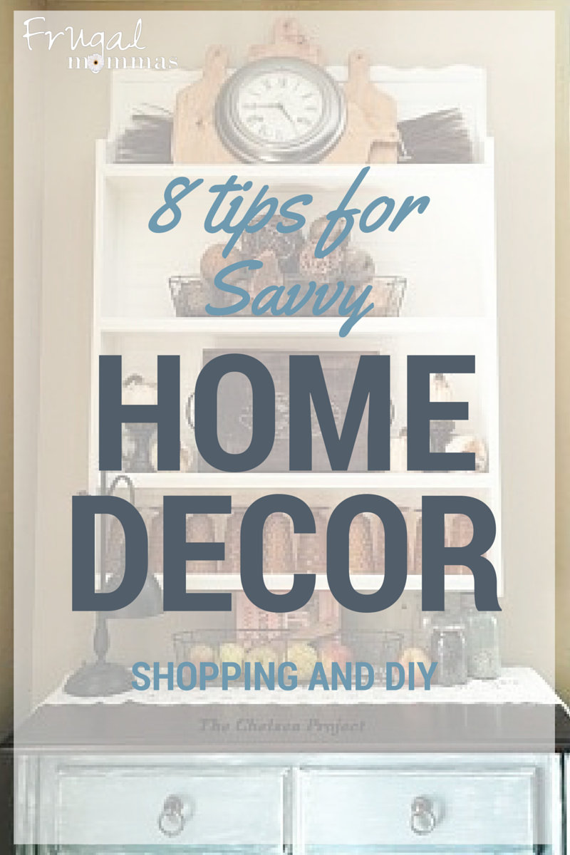 savvy home decor shopping