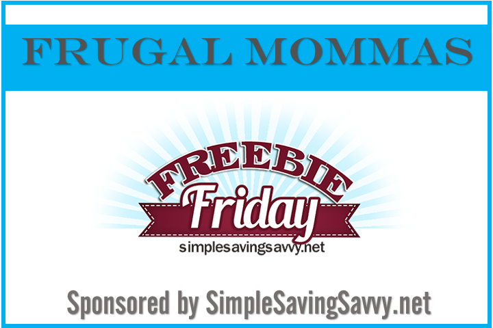 Frugal Mommas Freebie Friday
