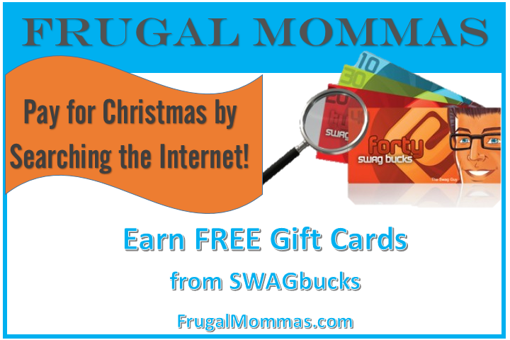 Earn free gift cards - pay for Christmas by searching the internet!