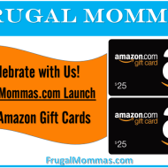 Win Amazon Gift Cards-Frugal Mommas Launch Week
