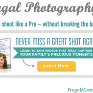 Frugal Photography – Learn to take great pictures