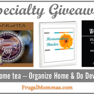 Specialty Giveaway – Frugal Mommas Launch Celebration