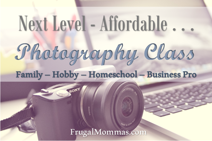 Next Level - Affordable Photography Class