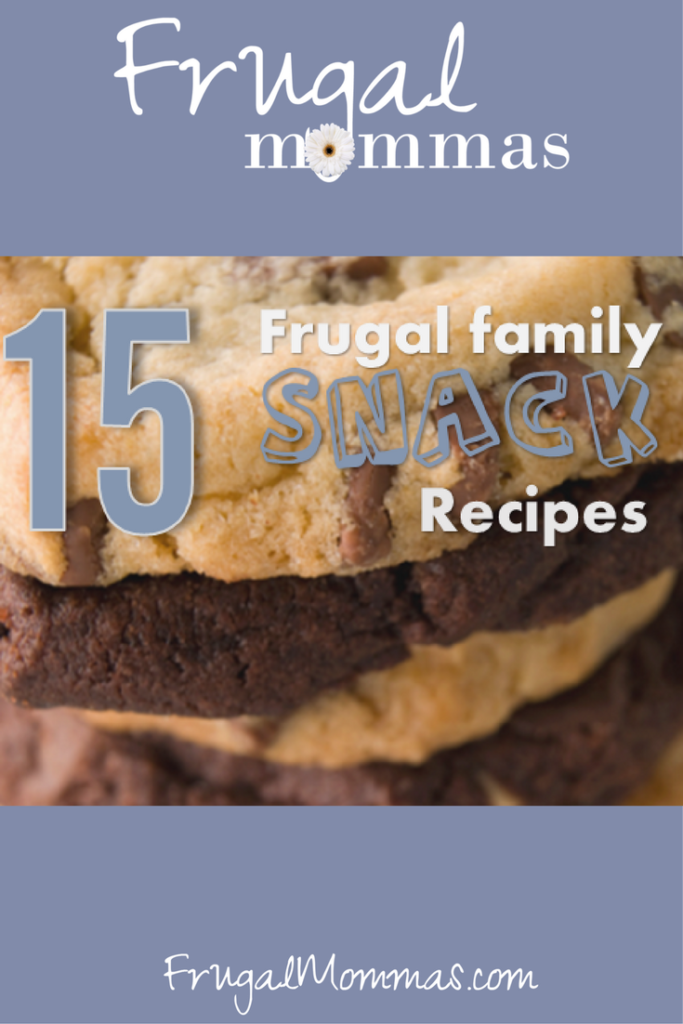 Frugal Family Snack Recipes