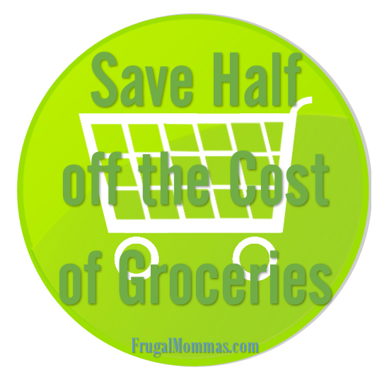 Save half off the cost of Groceries