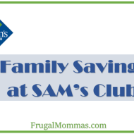 Saving Money at SAMs Club