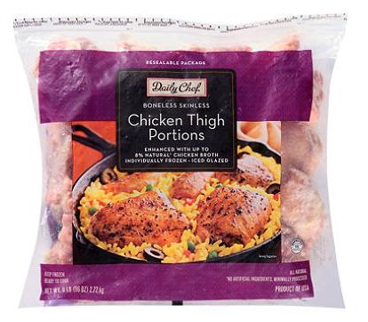 Chicken Thigh Portions