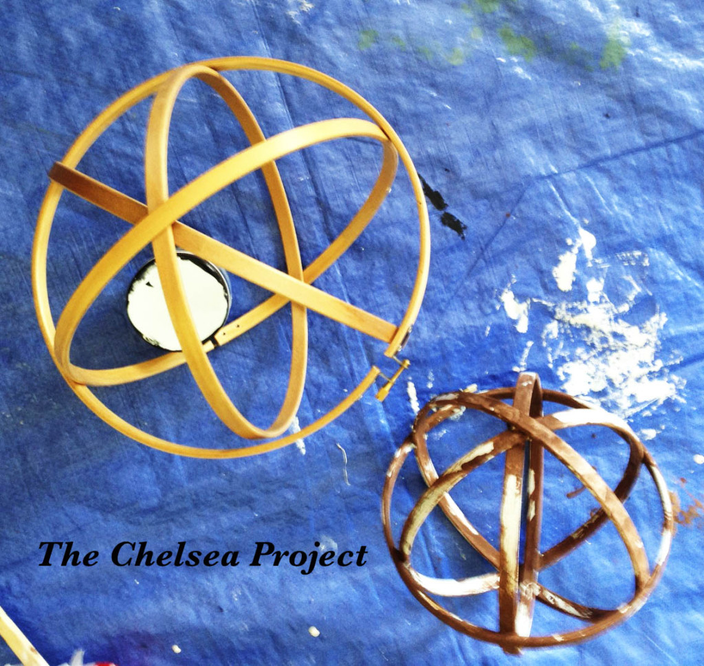 How To Make A Decorative Orb Step #4 via TheChelseaProjectBlog.Wordpress.com