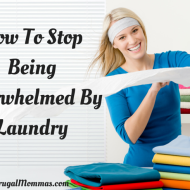 Four Tips To Help You Stop Being Overwhelmed By Laundry
