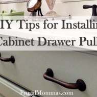 Tips for Installing Cabinet Drawer Pulls
