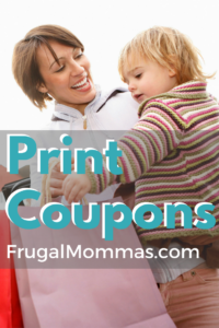 special new coupons to print