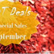 Hot Deals and Special Sales – September