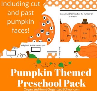 Pumpkin Themed Preschool - Frugal Mommas