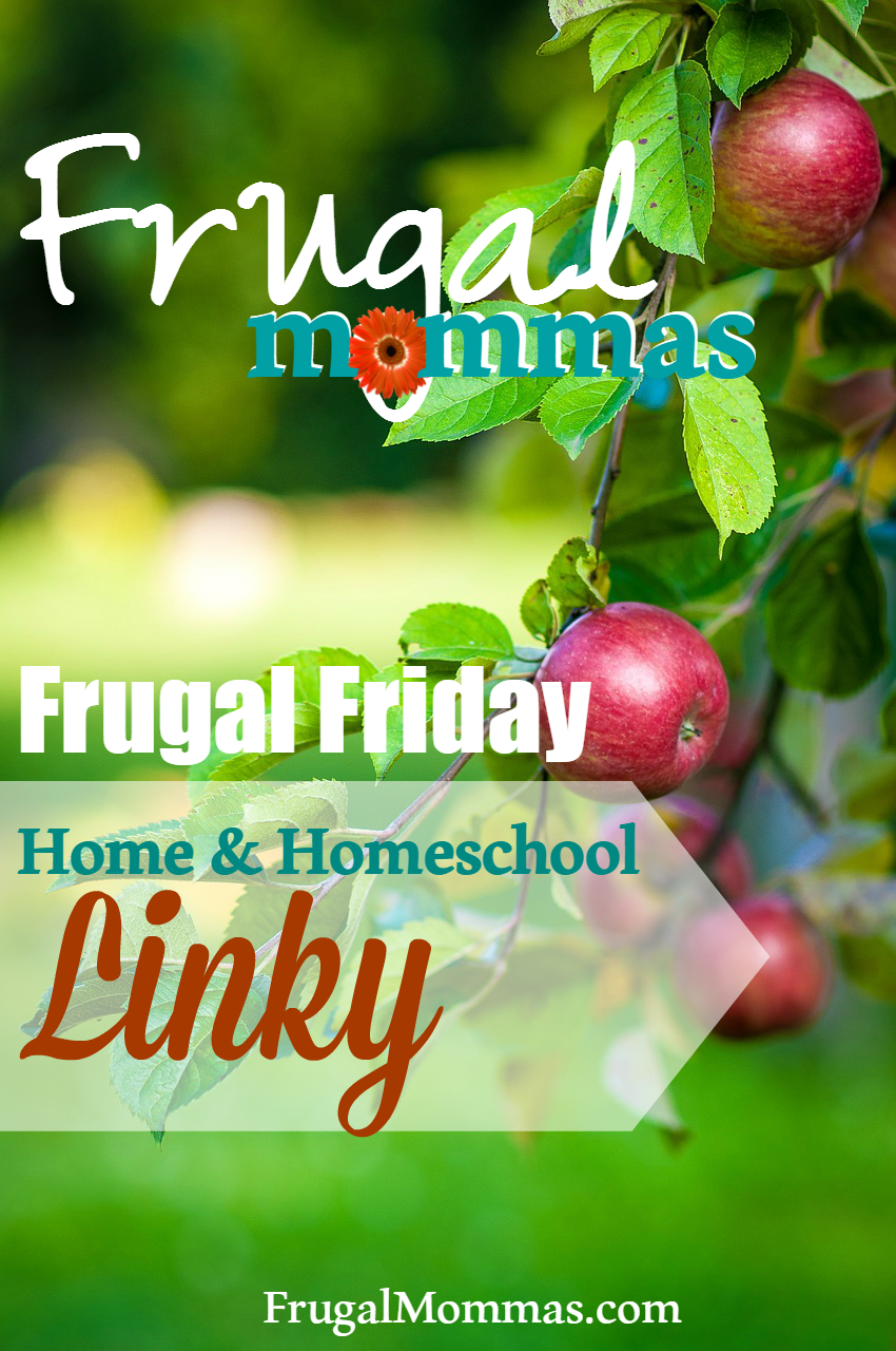 Frugal fridays link up 7 the place for busy moms for Frugal home designs