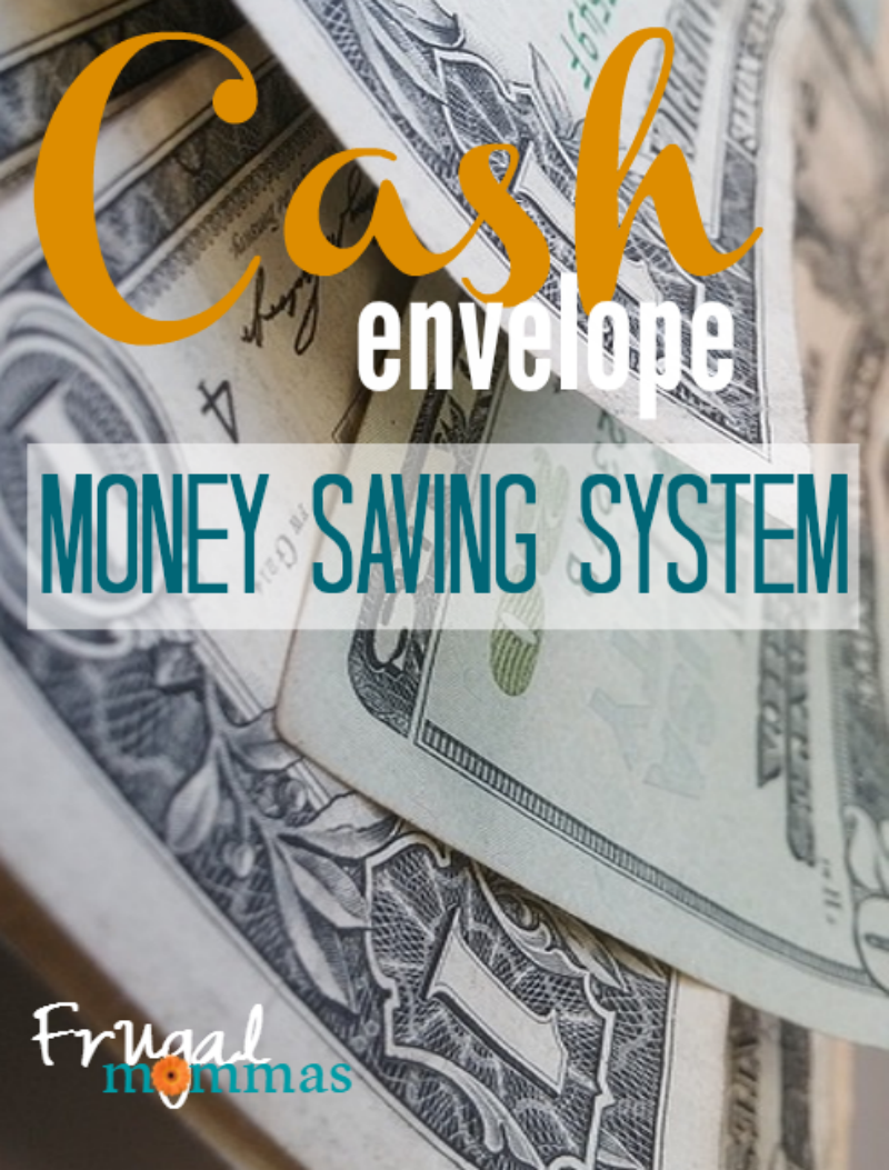 Cash envelope Money Saving System