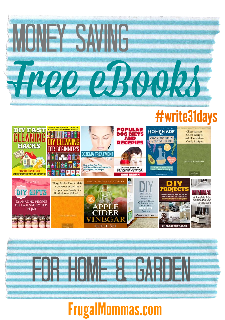 free ebooks for home and garden