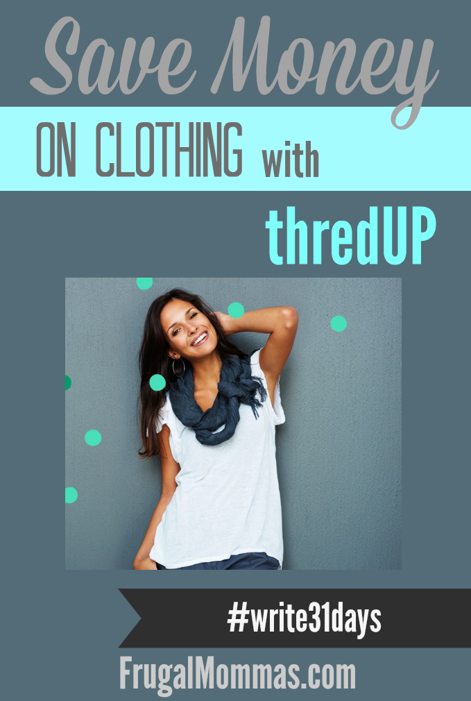 save money on clothing with thredup