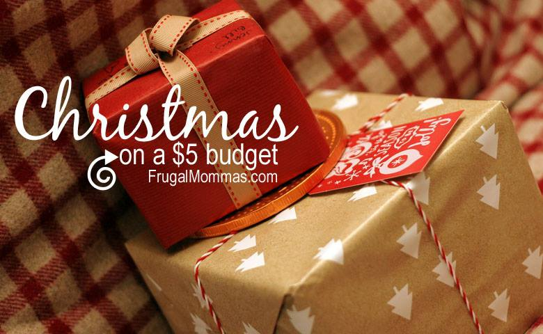 Save Money on Christmas - $5 budget options