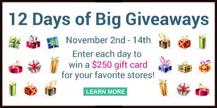 12 Days of Big Giveaways