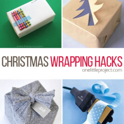 Thrifty Ideas for Home Life - Christmas Wrapping