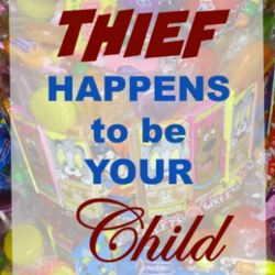 Thrifty Family - When your child steals