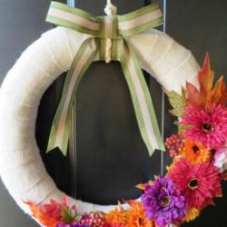 DIY Wreath - Thrifty Family