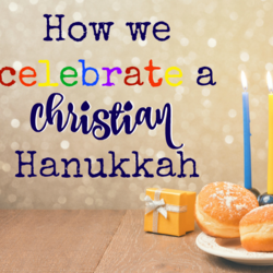 Christian Hanukkah - Frugal Mommas Friday