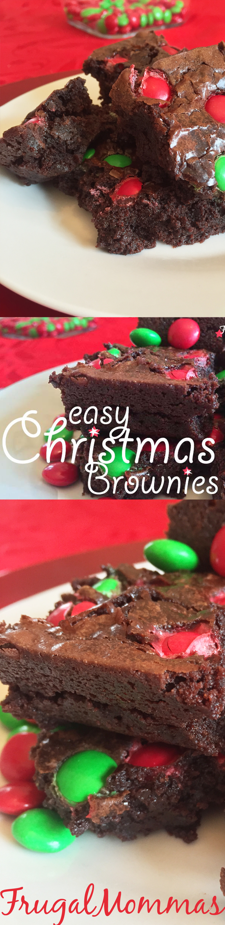 easy brownies with M&M's®