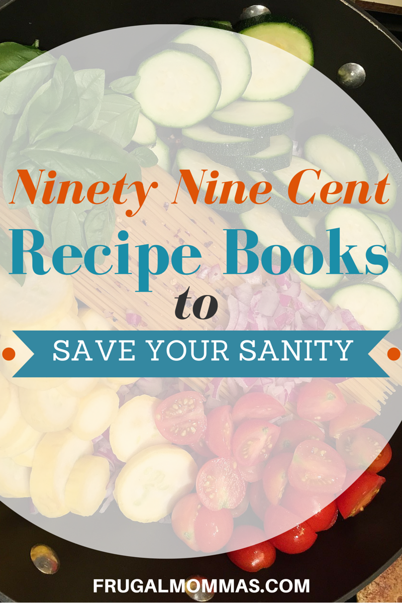 Ninety Nine Cent Recipe Books to Save