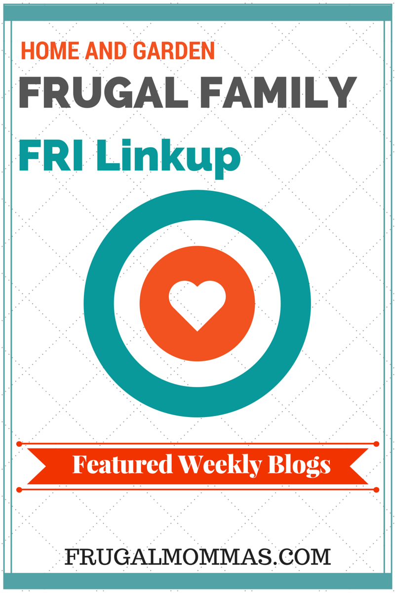 Frugal Family Friday Linkup