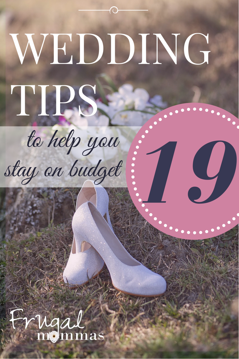 19 Wedding Tips to Help You Stay on Budget