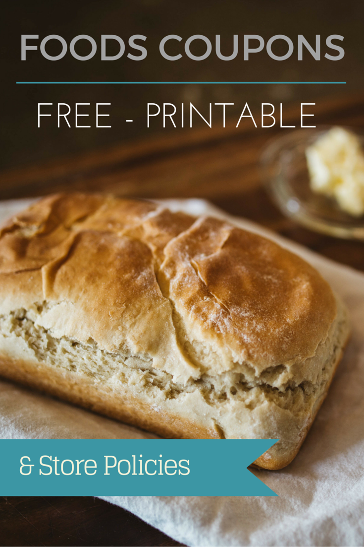 Printable Foods Coupons