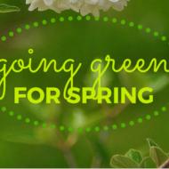 Friday Home Linkup 25 – Going Green for Spring