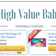 Baby Toddler Coupons