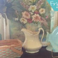 Easy Spring Home Decor – Thrifty Fresh Pretty DIY