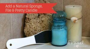DIY Essential Oils Bath Salts Gift