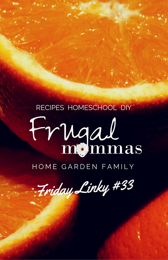 Home and Homeschool Linkup -Frugal Mommas