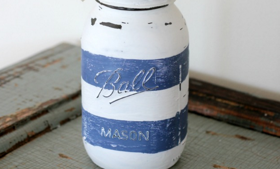 Friday Home Linkup Frugal Mommas - DIY Mason Jar Tutorial