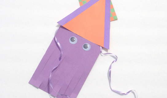 frugal mommas friday linkup - squid craft