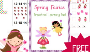 frugal mommas friday linkup - spring fairies freebie
